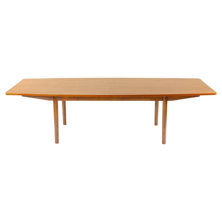 Large Teak Dining Table / Conference Table by Borge Mogensen for Karlsson