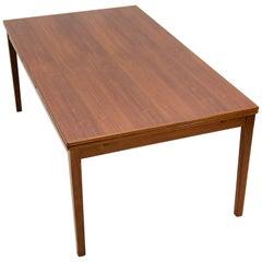 Large Teak Dining Table, Seats 12