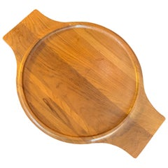 Large Teak Serving Tray by Jens Quistgaard for Dansk