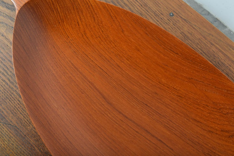 Large Teak Tray from Denmark For Sale 5