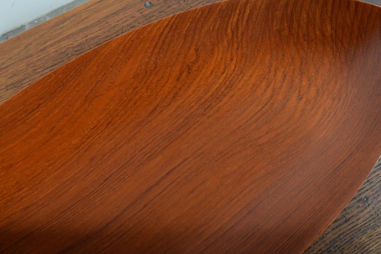 Large Teak Tray from Denmark For Sale 6