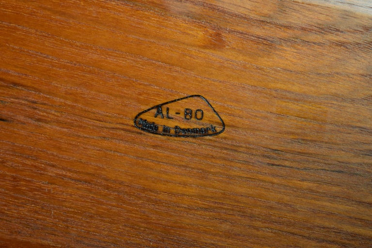Large Teak Tray from Denmark For Sale 7