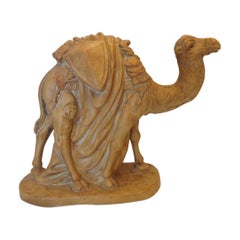 Large Terra Cotta Figure of a Camel