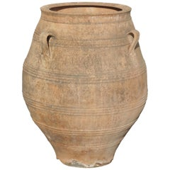 Large Terra Cotta Oil Jar, Italian, 19th Century
