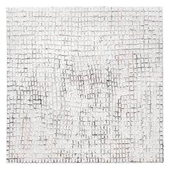 Large Textural mixed media Zero Art work by Artist Karim Omayri