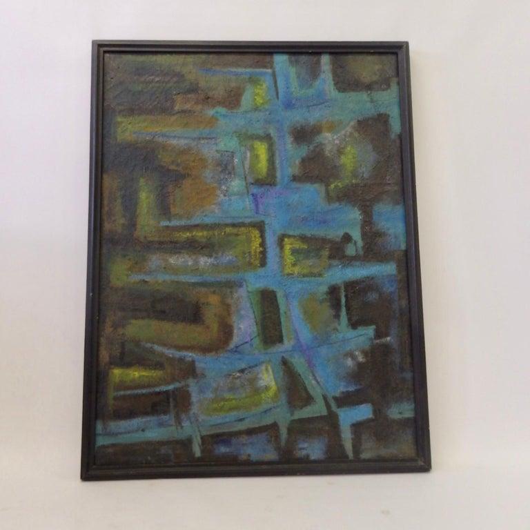 Robert Berger, Detroit, Partial Illegible Gallery Label