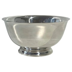 Large Tiffany & Co. Bowl, Sterling Silver, New York, 1930-1950s