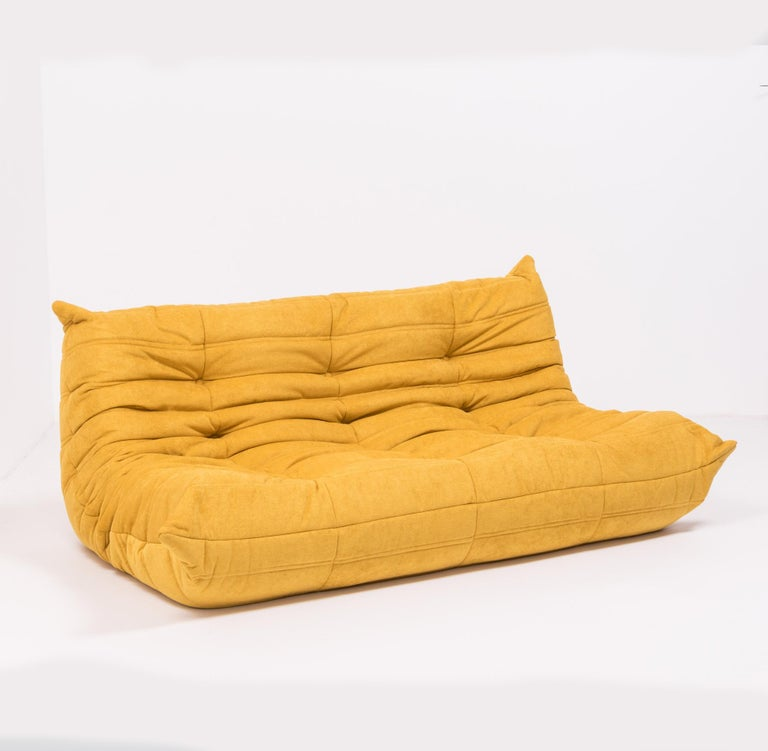 The iconic Togo sofa, originally designed by Michael Ducaroy for Ligne Roset in 1973, has become a design classic.