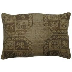 Large Tribal Afghan Ersari Rug Floor Pillow