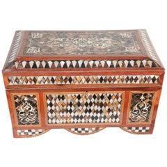 Large Turkish Decorative Jewelry Box