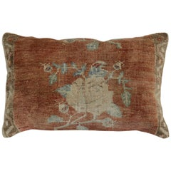 Large Turkish Floor Size Rustic Floral Pillow