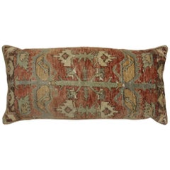 Large Turkish Floor Size Rustic Geometric Pillow
