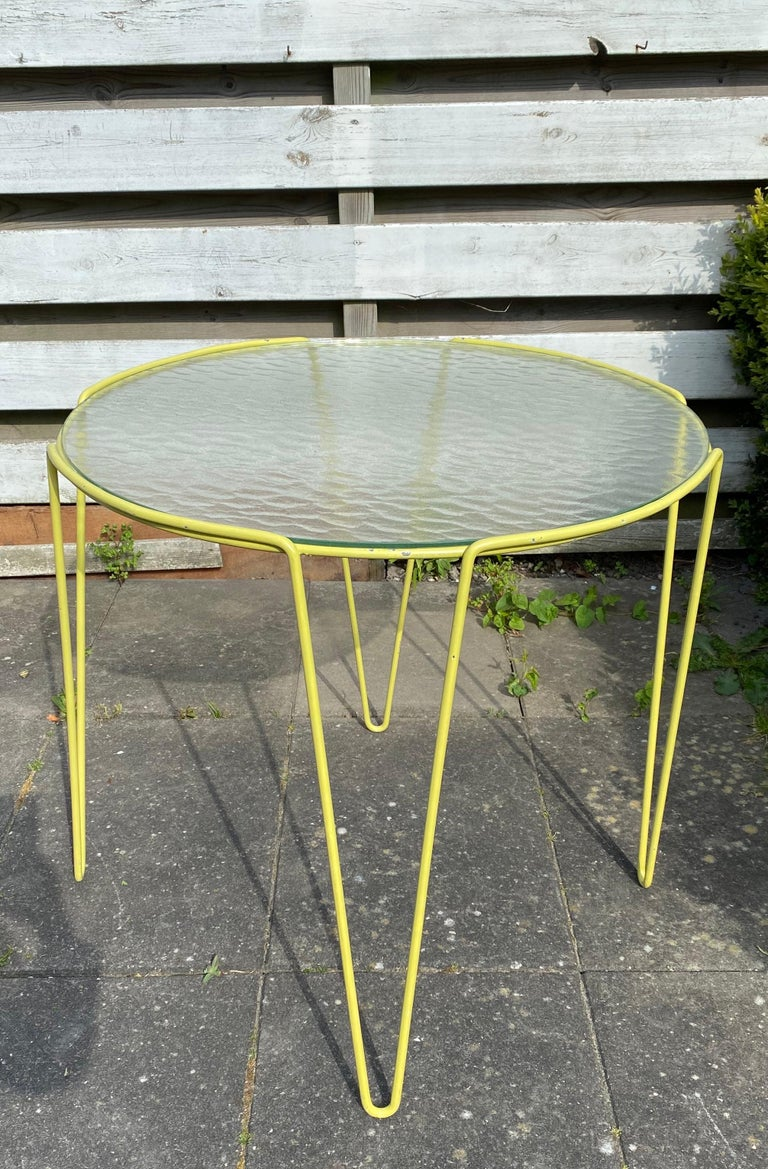 Large Unica Side Table by Arnold Bueno de Mesquita for Spurs, circa 1955 For Sale 3