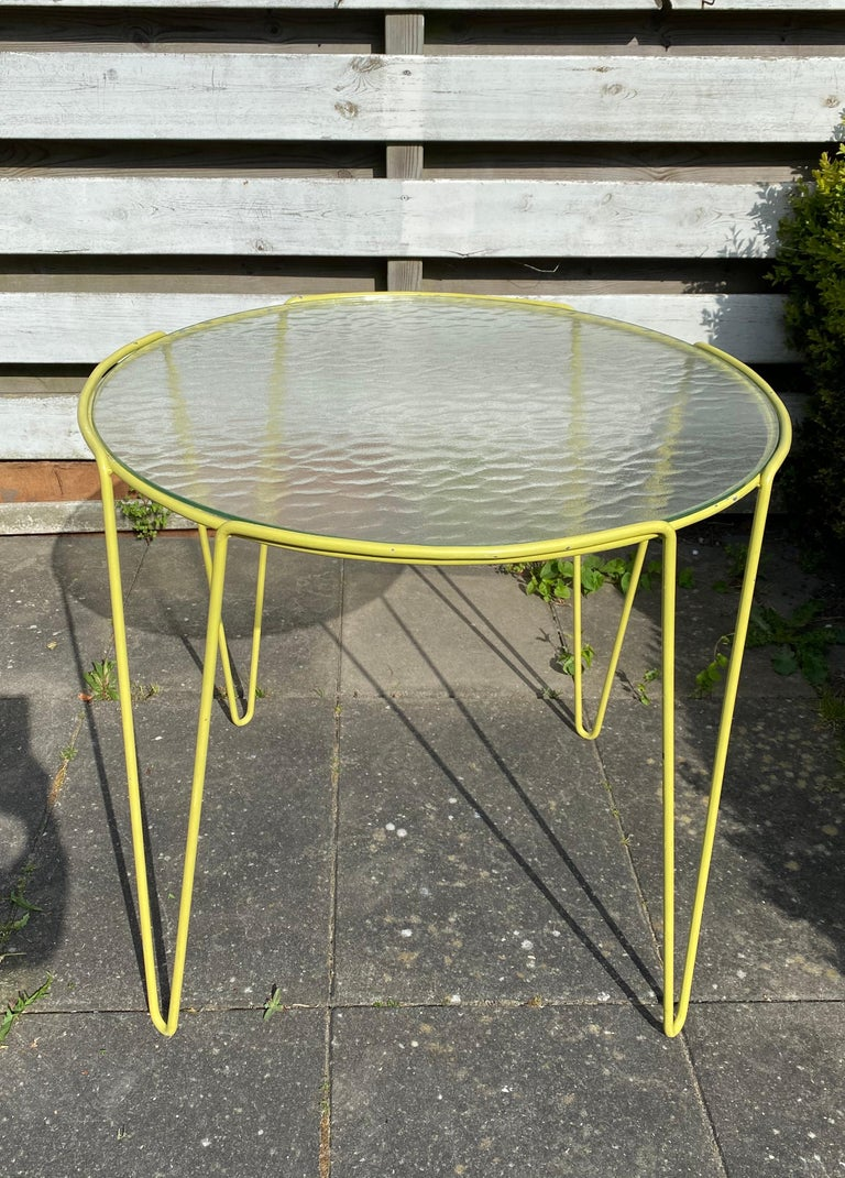 Mid-20th Century Large Unica Side Table by Arnold Bueno de Mesquita for Spurs, circa 1955 For Sale