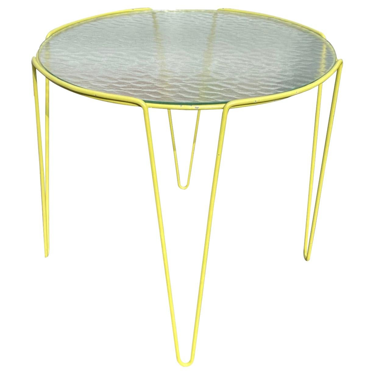 Large Unica Side Table by Arnold Bueno de Mesquita for Spurs, circa 1955