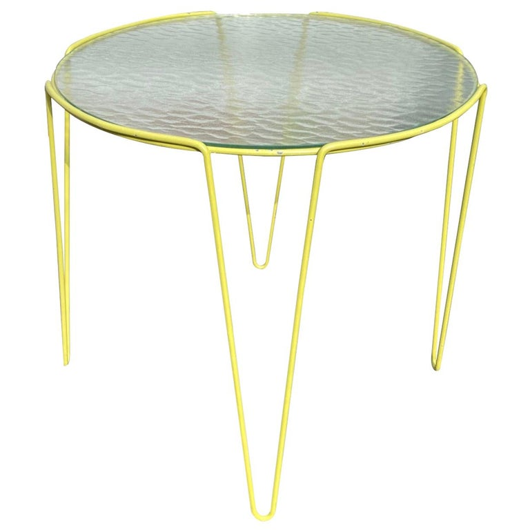 Large Unica Side Table by Arnold Bueno de Mesquita for Spurs, circa 1955 For Sale