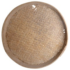 Large Unique Sieve, Swedish Folk Art, 1800s