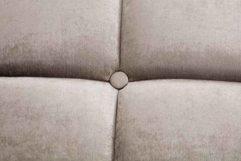 Large Upholstered Ottoman For Sale 1