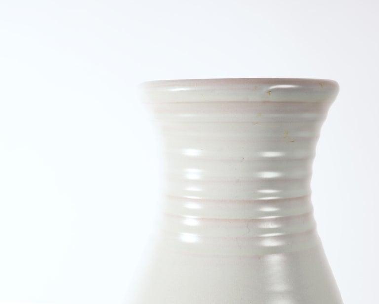 Scandinavian Modern Large Vase by Ewald Dahlskog, Produced by Bo Fajans, Sweden For Sale