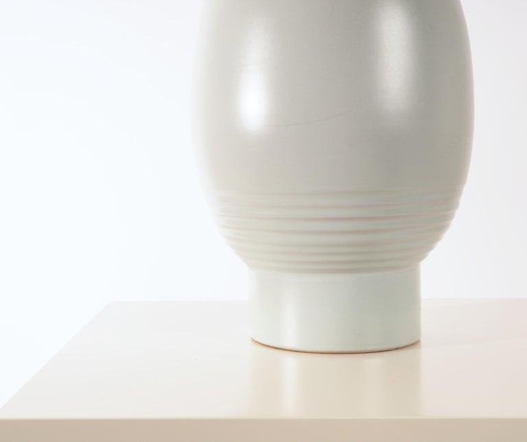 Large Vase by Ewald Dahlskog, Produced by Bo Fajans, Sweden In Good Condition For Sale In Goteborg, SE