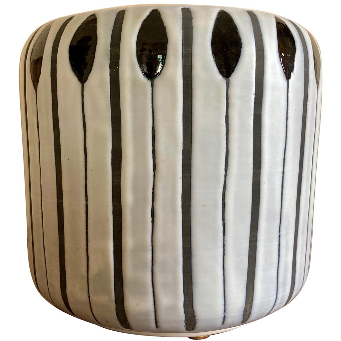 Large Vase by Roger Capron, Vallauris
