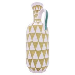 Large Vase Faience, Stig Lindberg, Gustavsbergs Studio