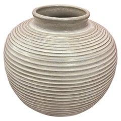 Large Vase in Ceramic Style Art Deco, circa 1950