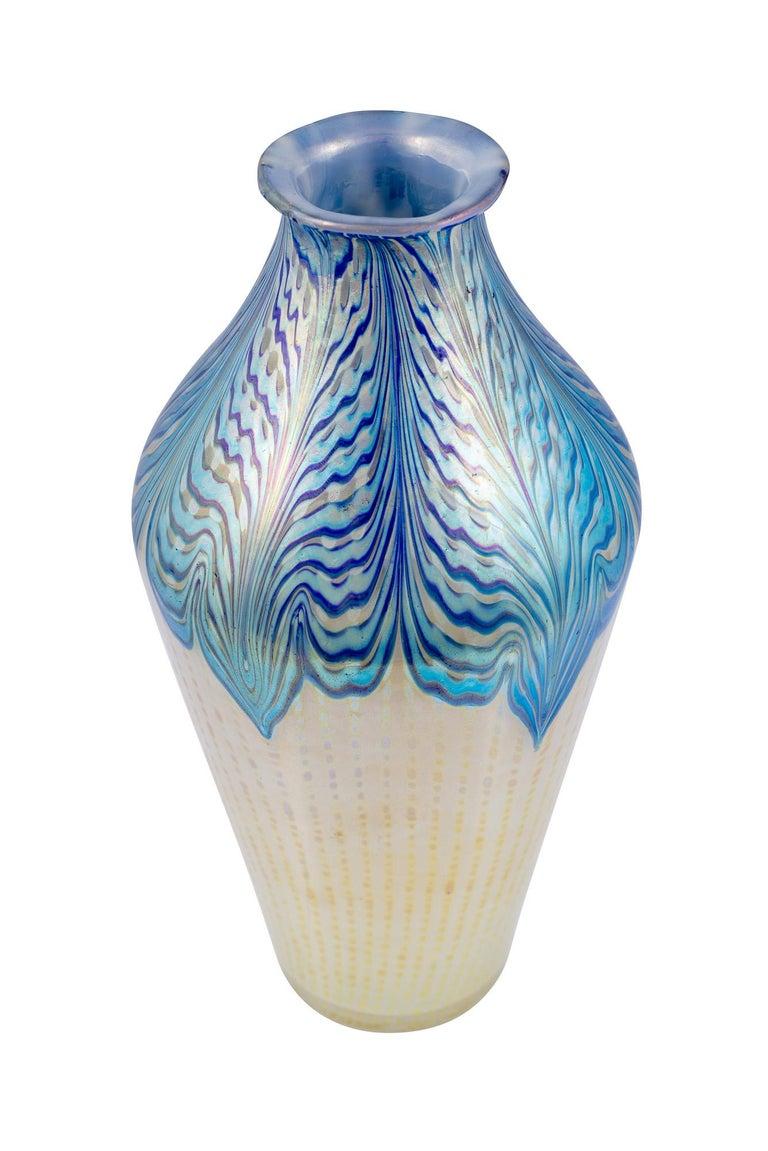 Art Nouveau Large Vase Loetz Decor Phenomen Genre 2/187, circa 1902 For Sale