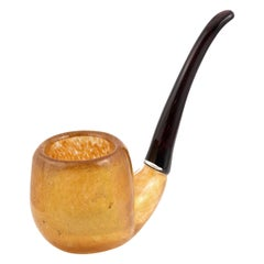 Large Venetian Glass Pipe