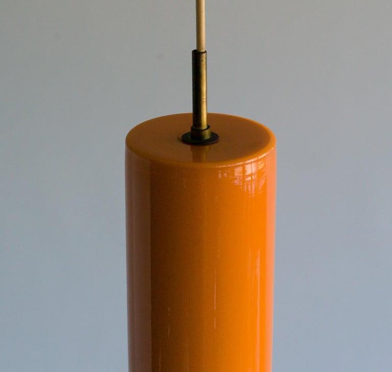 Mid-20th Century Large Venini Glass Pendant For Sale