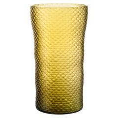 Large Venini Vase Tessuti Battuti by Carlo Scarpa