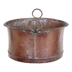 Large Victorian 19th Century Copper Cooking Vessel