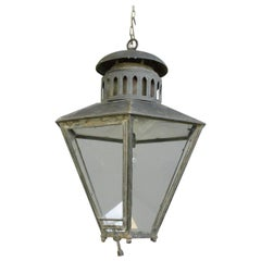 Large Victorian Lantern by Bray & Co. Leeds