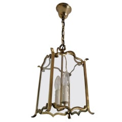 Large Viennese Stairwell or House Entrance Lantern
