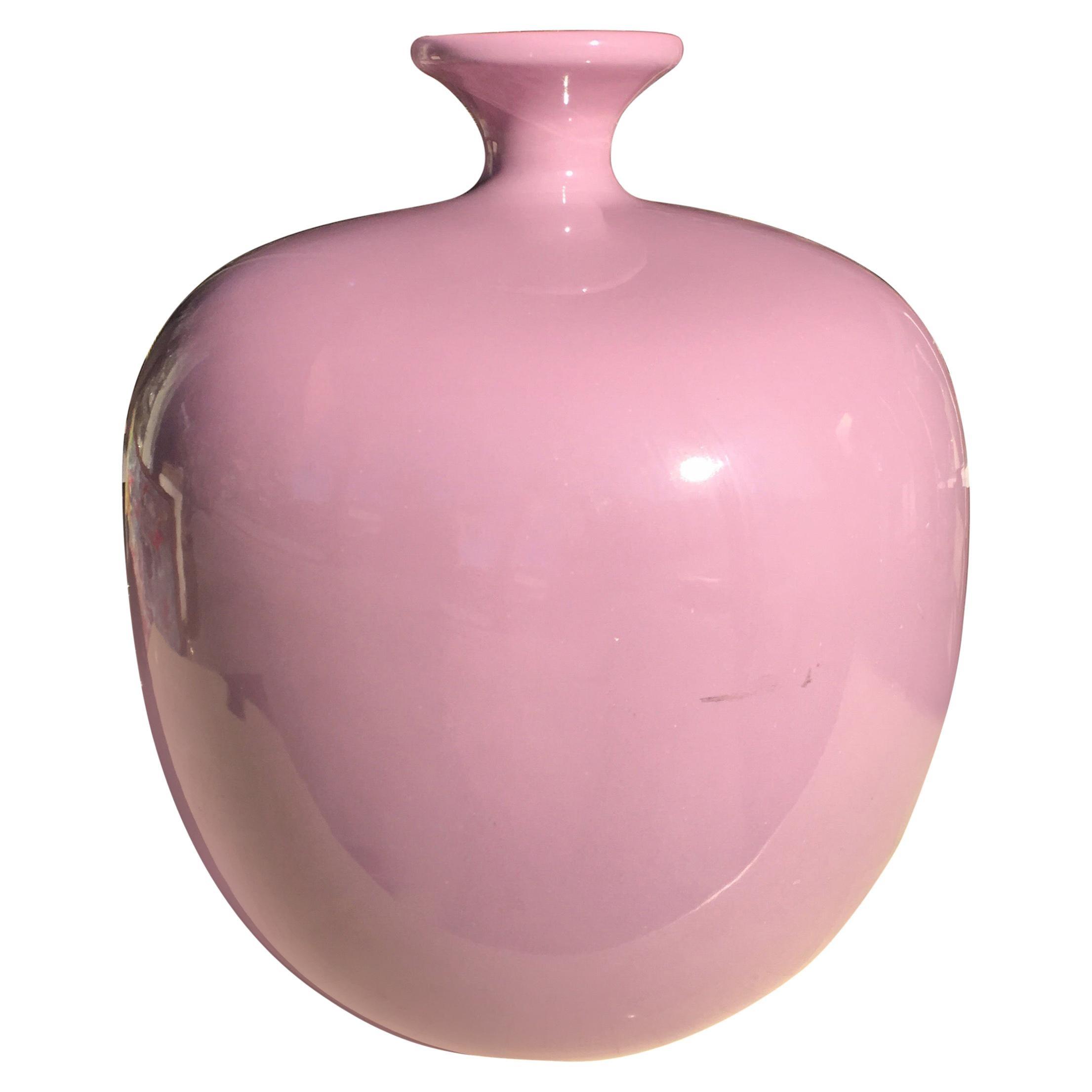 Large Vintage 1980s Sculptured Jaru Ceramic Vase