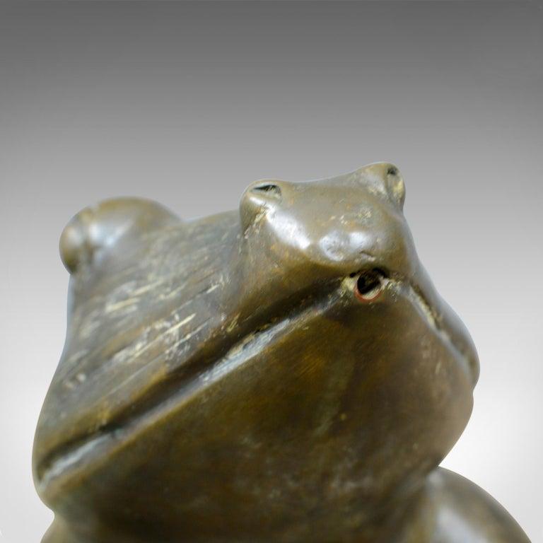 Large, Vintage, Bronze, Water Feature, Decorative Garden Ornament 20th Century For Sale 2