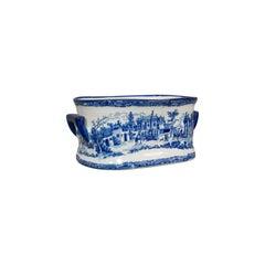 Large Vintage Champagne Cooler, French, Ceramic, Decorative, Serving, Bowl
