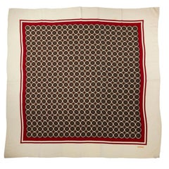 Large Vintage Chanel silk shawl
