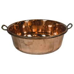 Large Vintage Copper Bowl