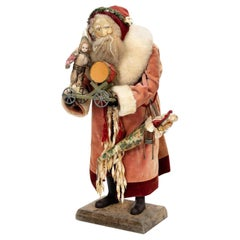 Large Vintage Father Christmas Figure