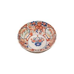 Large Vintage Imari Bowl, Oriental, Ceramic, Serving Dish, Art Deco, circa 1940