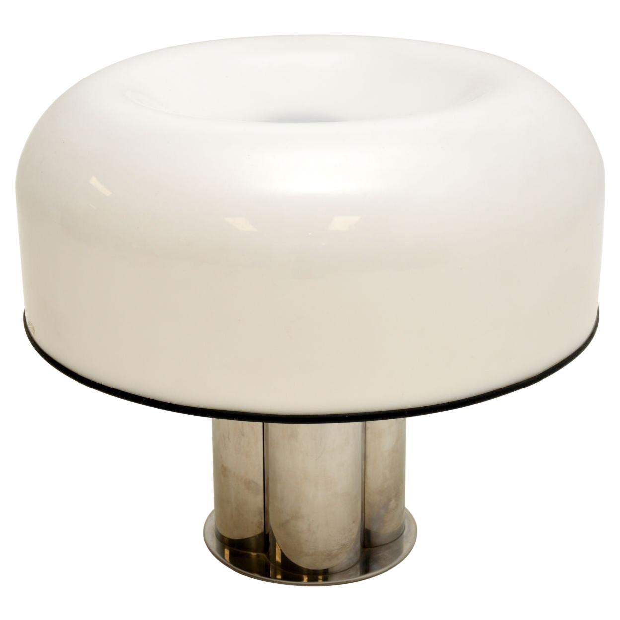 Large Vintage Italian Table Lamp by Harvey Guzzini