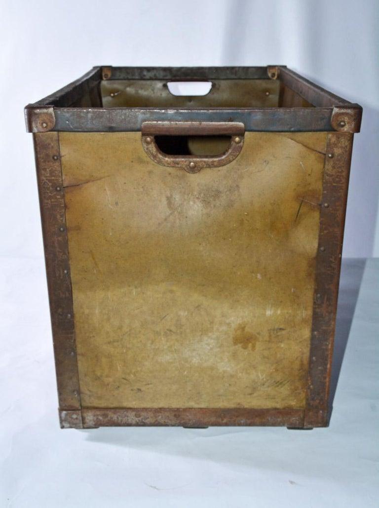 American Large Vintage Mail Bin For Sale