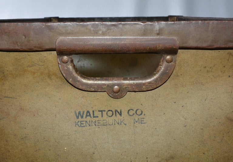 20th Century Large Vintage Mail Bin For Sale