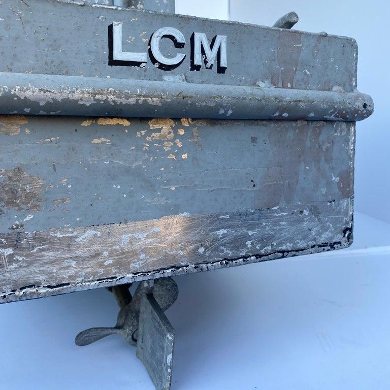Large Vintage Model LCM USN Landing Craft For Sale 3
