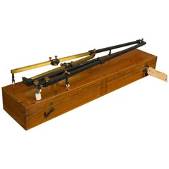 Large Vintage Planimeter, English, Brass, Scientific Mapping Instrument