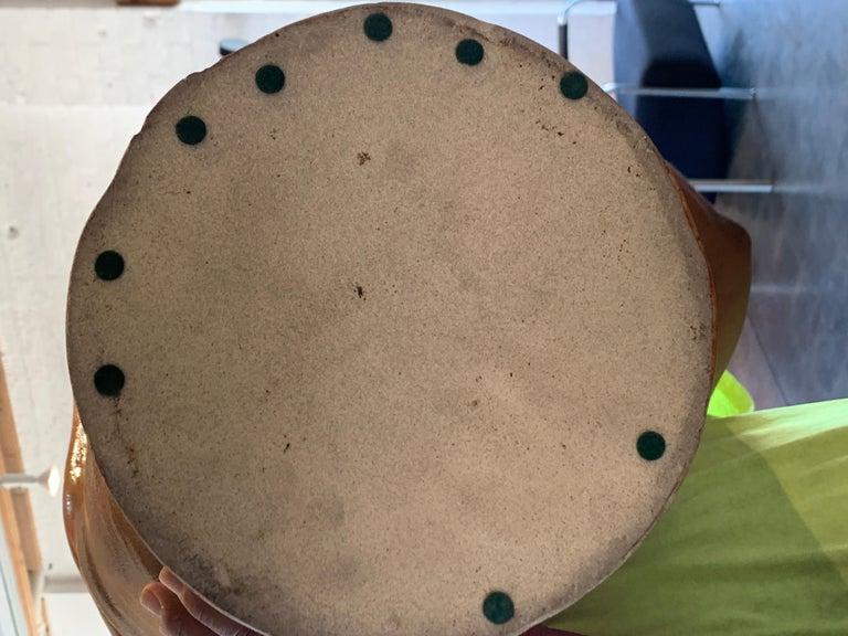Large Vintage Pottery Vessel For Sale 8