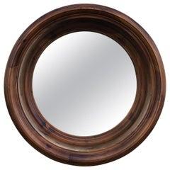 Large Vintage Ralph Lauren Porthole Wood Mirror