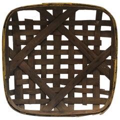 Large Vintage Tobacco Drying Basket