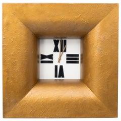 Large Wall Clock Alan Wallis, England, 1990s